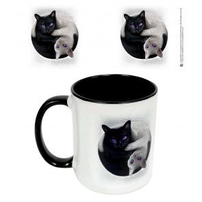 YIN YANG CATS - Ceramic Mug 0.3L - Gift Boxed
