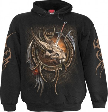 Centaur Slayer Black Hoodie