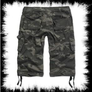 Brandit Dreiviertel Shorts Urban Legend Dark Camo