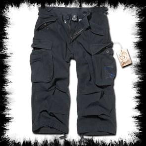 Brandit Dreiviertel Shorts Urban Legend Schwarz Army