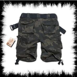 Brandit Shorts Savage Dark Camo