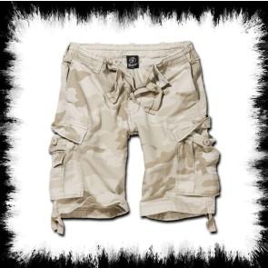 Brandit Shorts Vintage Classic Sand Camo