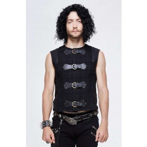 Devil Fashion Gothic Männer Westen Top