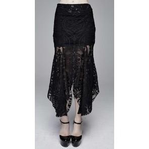 Devil Fashion - Gothic Spitzenstoff Rock