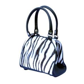 Bowling Handtasche Weißer Tiger