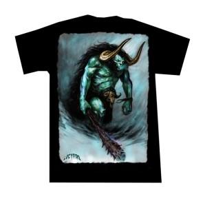fantasy t shirt the beast