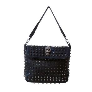 Gothic Damen Handtasche Anti Taschendieb