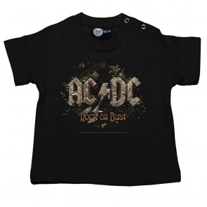 Baby T Shirt, AC/DC Rock Or Bust