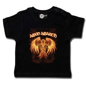 Baby T Shirt, Amon Amarth Burning Eagle