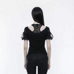Black Dahlia Top - Punk Rave