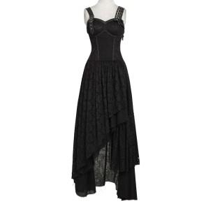 Black Gipsy Dress - Punk Rave