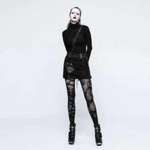 Black Harpy Gothic Skirt - Punk Rave