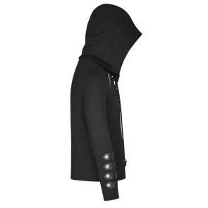 Nergal Hooded Top-Punk Rave
