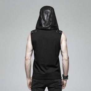 Nustromo Gothic Hooded Shirt - Punk Rave