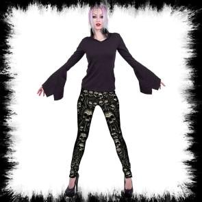 Catacomb Allover Comfy Fit Leggings Black
