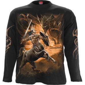 Centaur Slayer Black Longsleeve