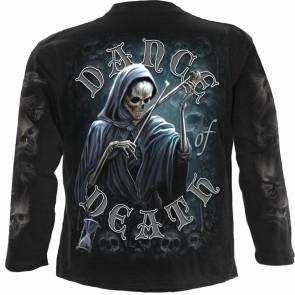 DANCE OF DEATH - Longsleeve T-Shirt Black