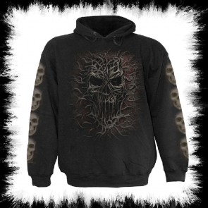 Gothic Metal Hoody Root Of All Evil