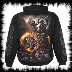 Gothic Metal Hoody Wheels Of Fire
