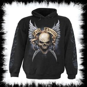 Metal Hoody Shut Up And Ride Hood