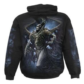 Winged Skeleton Metal Hoodie