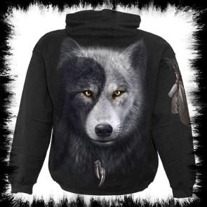 Wolf Chi Hoody Schwarz